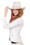 Young cowgirl Royalty Free Stock Image