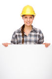 Young craftswoman Royalty Free Stock Photo
