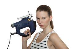 Young craftswoman Stock Photos