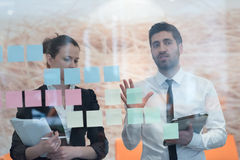 Young creative business people Stock Photos