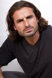 Young Creative Male With Long Hair Stock Images