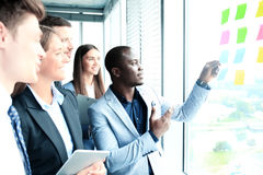Young creative startup business people Stock Image