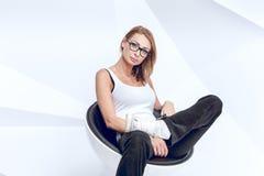Young creative woman Stock Photos
