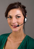 Young customer service Stock Image