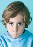 Young cute boy Stock Image
