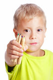 Young cute boy Stock Photography