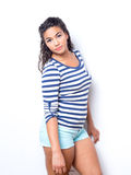 Young Cute Female With Fun Summer Look Stock Image