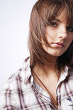 Young cute girl. Royalty Free Stock Images