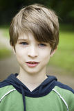 Young cute smiling boy stock image