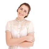 Young cute smiling girl Stock Photos