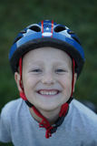 Young cyclist Stock Images