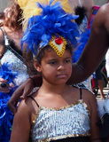 Young Dancer In Cariwest Parade Edmonton 2013 Stock Photos