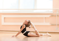 Young dancer doing an exercise Stock Photo