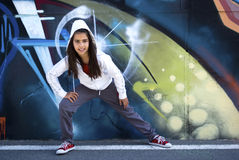 Young dancer Hip-Hop Stock Photography