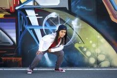 Young dancer Hip-Hop Stock Image