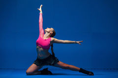Free Young Dancer In Movement Stock Photography - 38669962