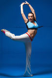 Young dancer in movement Stock Photography