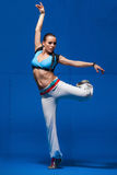 Young dancer in movement Stock Images