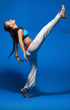 Young dancer in movement Stock Image