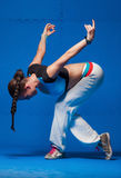 Young dancer in movement Royalty Free Stock Photos
