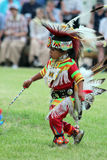 Young Dancer - Powwow 2013 Royalty Free Stock Photography