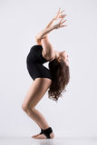 Young dancer woman working out Stock Photo