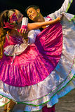 Young dancers from Colombia in traditional costume Stock Photos