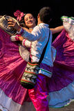 Young dancers from Colombia in traditional costume Stock Images