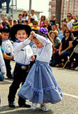 Young dancers at festival Royalty Free Stock Photos