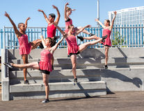 Young dancers Royalty Free Stock Photos