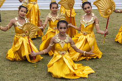 Young dancers Royalty Free Stock Photography