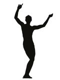 Young dancing boy Royalty Free Stock Photo