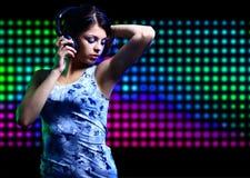 Young dancing girl Stock Image