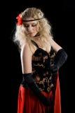Young dancing girl Royalty Free Stock Image