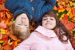 Young dating couple in Paris on a bright fall day Royalty Free Stock Photo