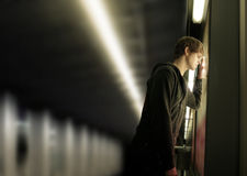 Young depressed man Royalty Free Stock Photography