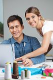 Young Designers At Work Royalty Free Stock Images