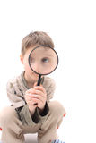 Young detective Royalty Free Stock Photography