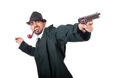 Young detective Royalty Free Stock Photo