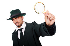 Young detective Royalty Free Stock Photos