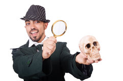 Young detective Royalty Free Stock Image