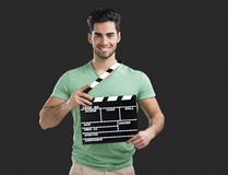 Young director guy Stock Photography