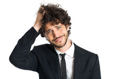 Young Disappointed Businessman Royalty Free Stock Photo