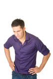 Young disappointed man Royalty Free Stock Photography