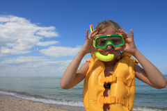 Free Young Diver With Equipment Stock Photo - 7689500