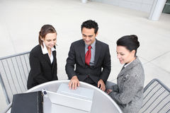 Young Diverse Business Team Stock Photos