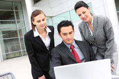 Young Diverse Business Team Stock Photography