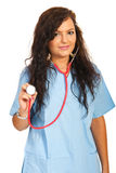Young doctor female Stock Images