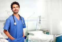 Young doctor at the hospital Royalty Free Stock Photos