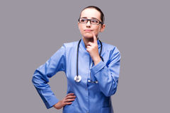 The young doctor in medical concept Stock Photo